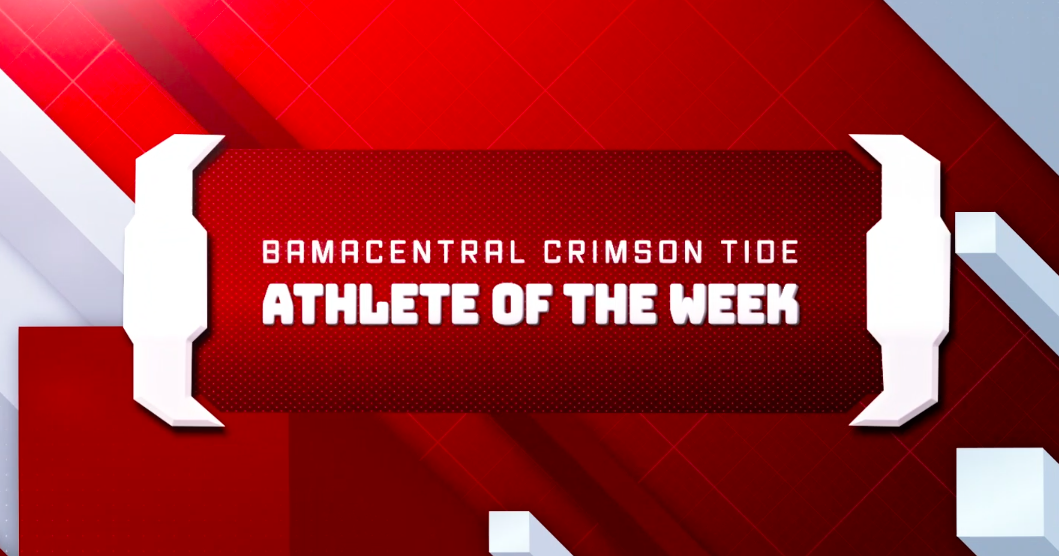 Zhe Zhou is this Week's BamaCentral Crimson Tide Athlete of the Week