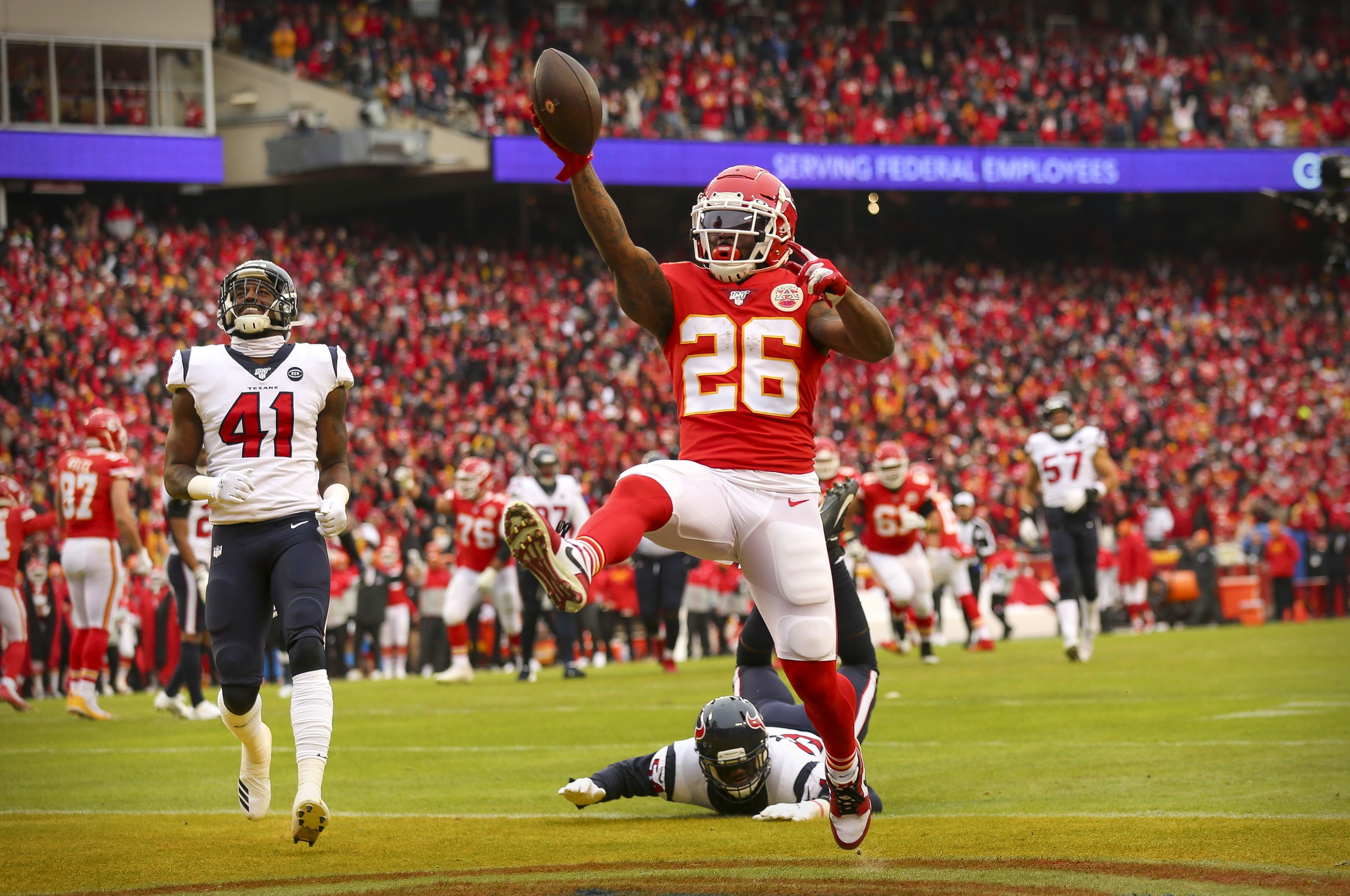 Titans Rematch Personal for Chiefs RB Damien Williams
