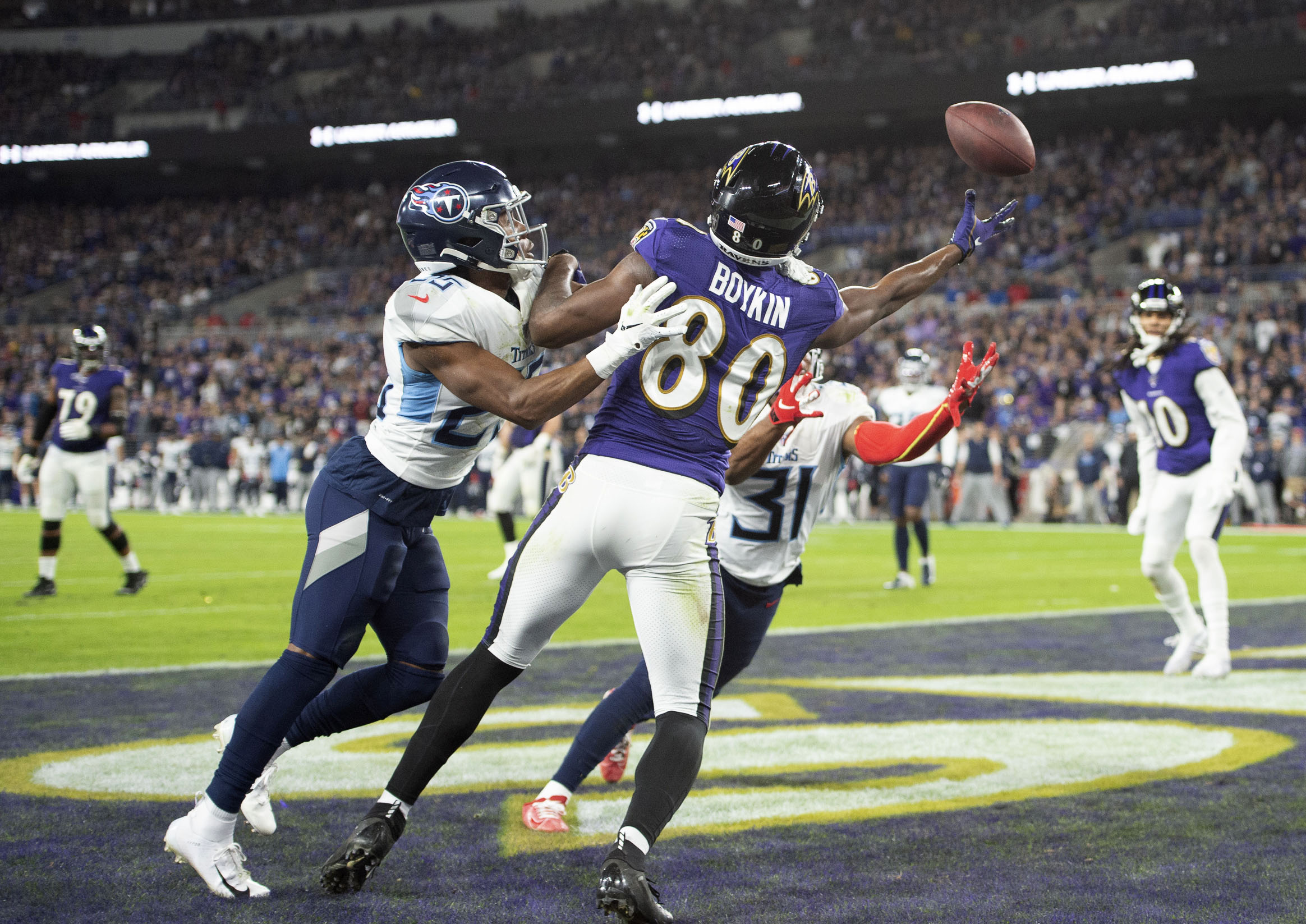 Miles Boykin Looking to Take Next Step After Mostly Quiet Rookie Season
