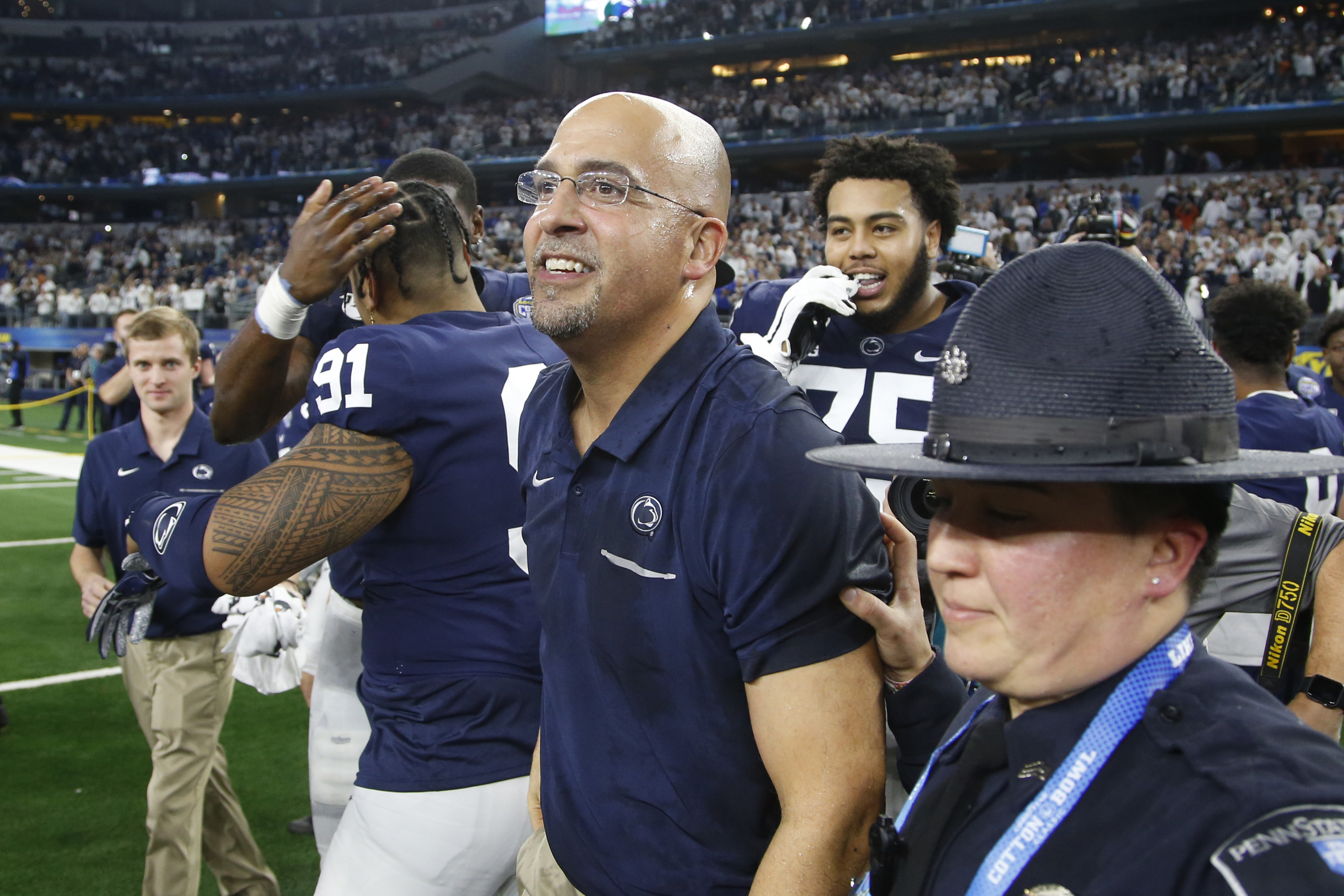 Allegations Of Hazing Arise Against James Franklin, Penn State In Lawsuit