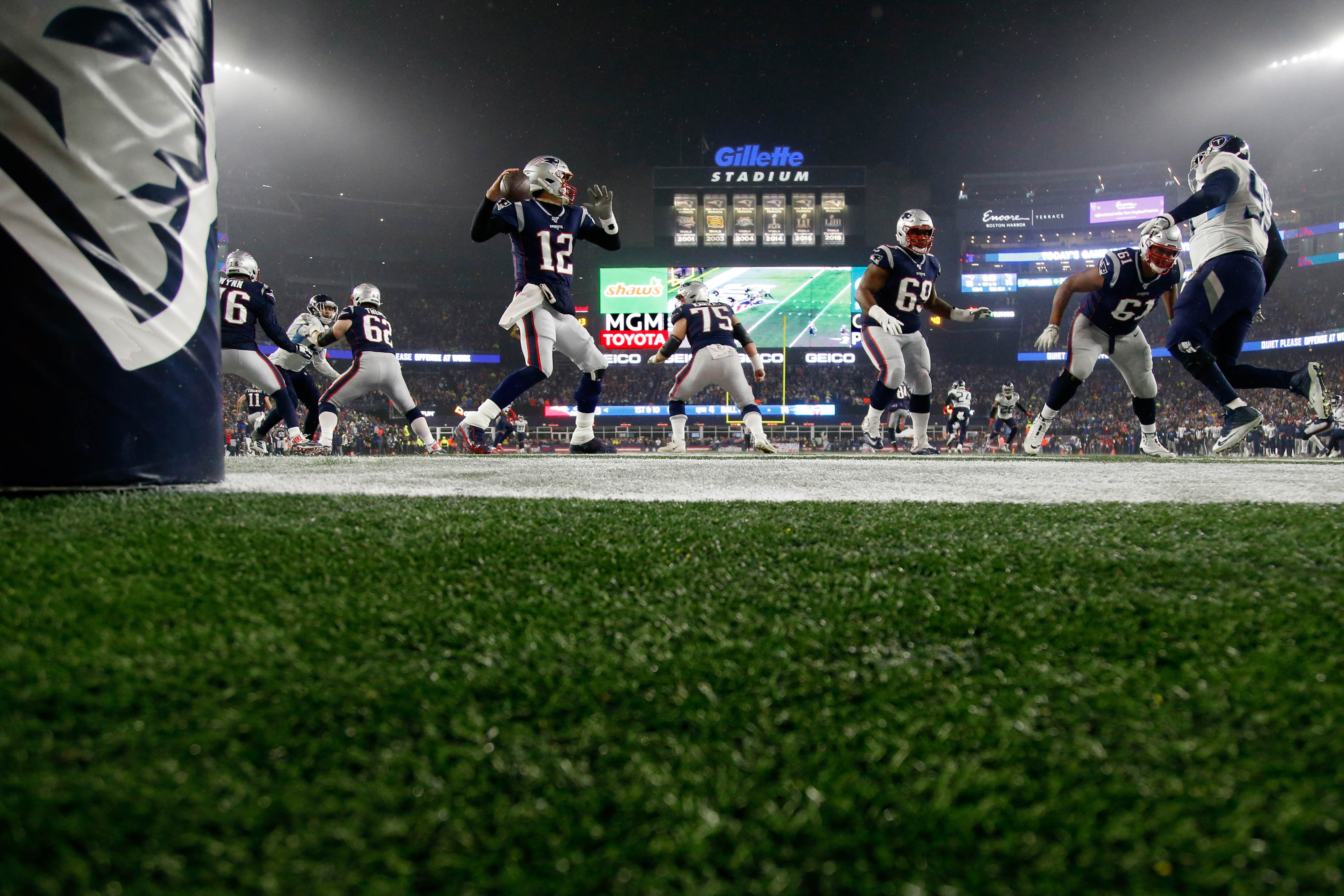 Patriots Have 4th-Best Odds to Win Super LV