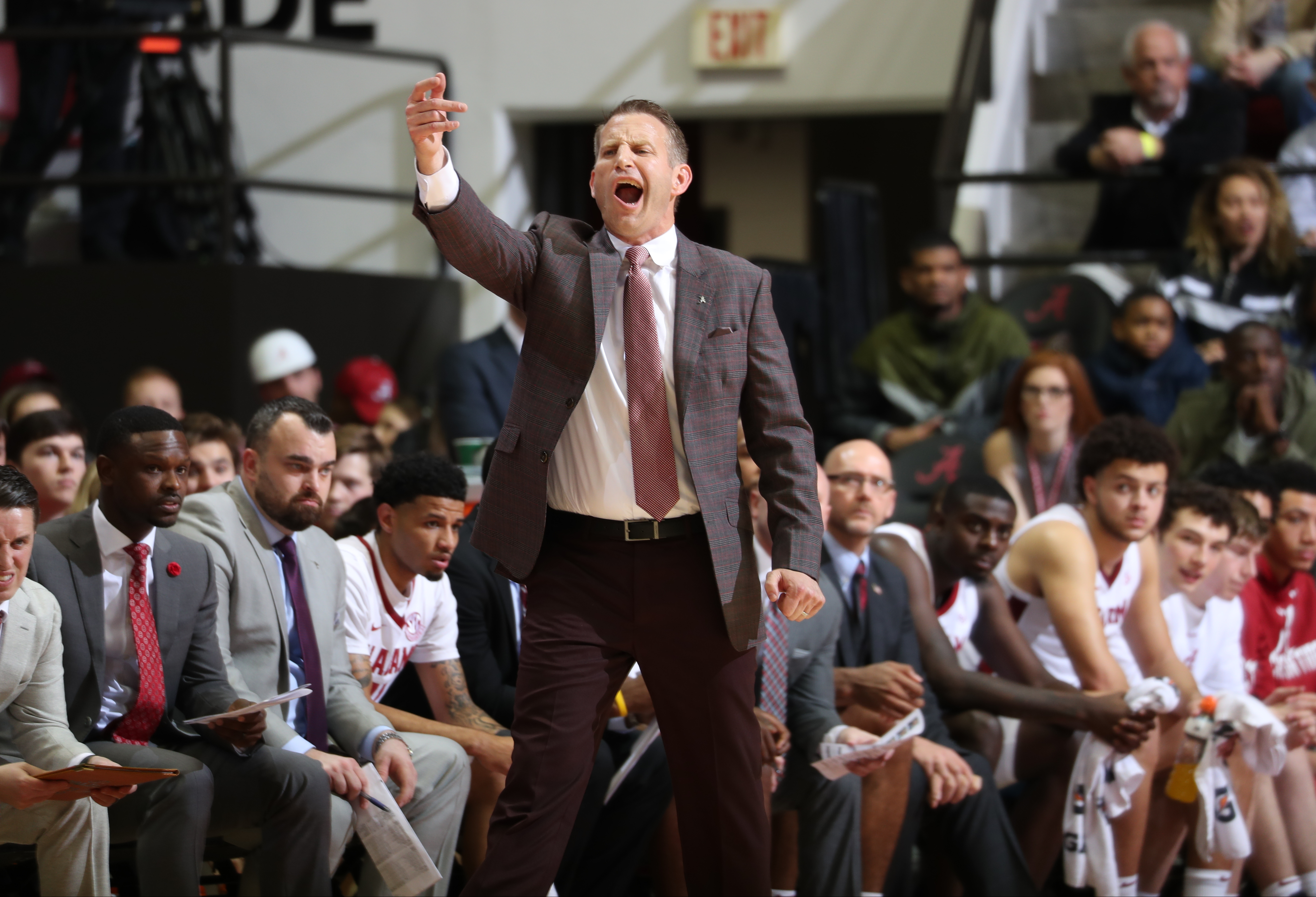 Nate Oats Talks NCAA Tournament Chances after First Signature Win