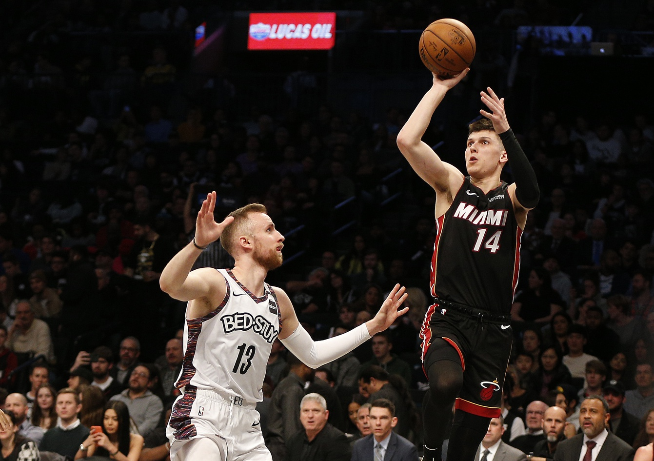 Heat guard Tyler Herro a late scratch from Wednesday's games against Spurs