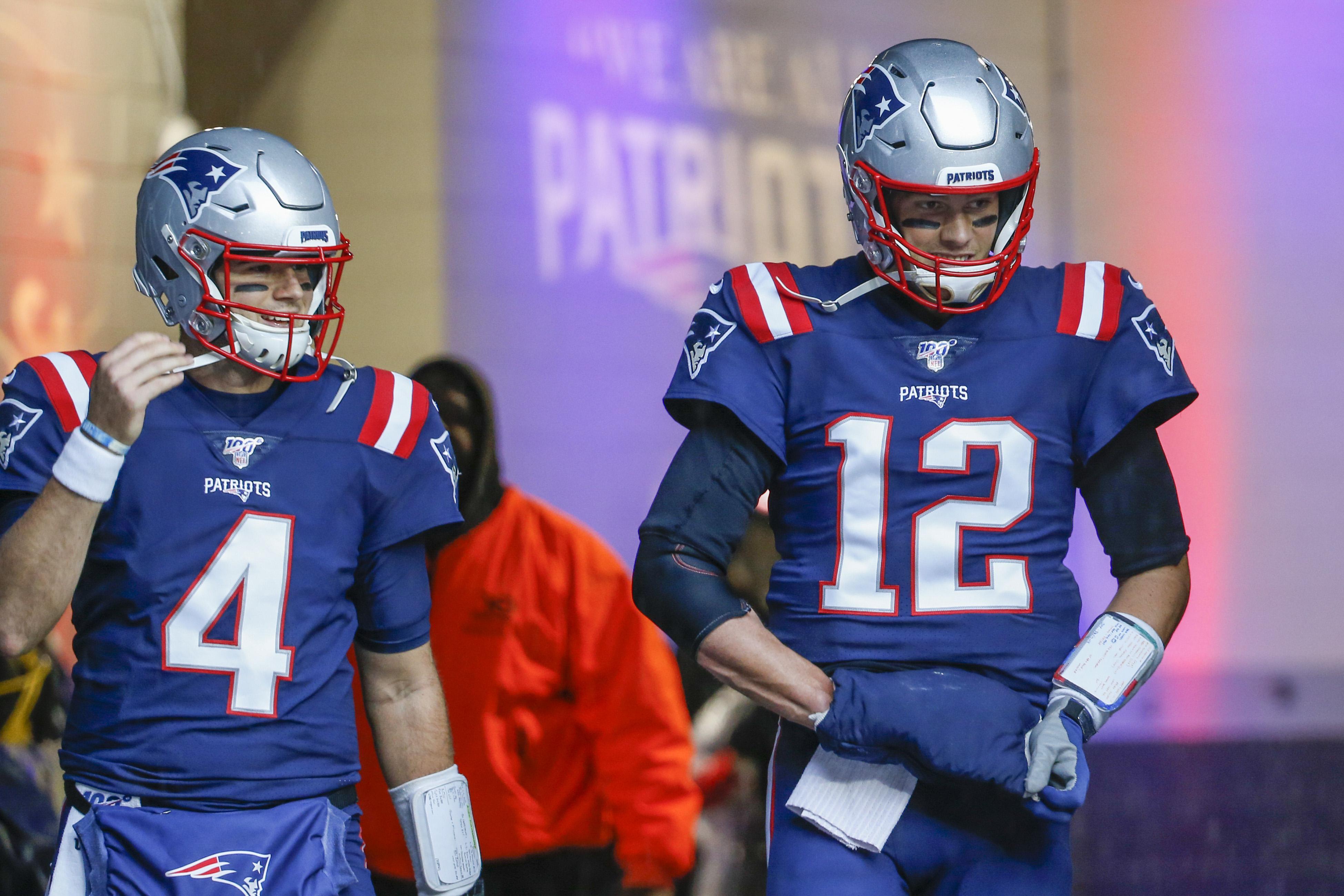 Jarrett Stidham Says He's Not Worried About Tom Brady's Future