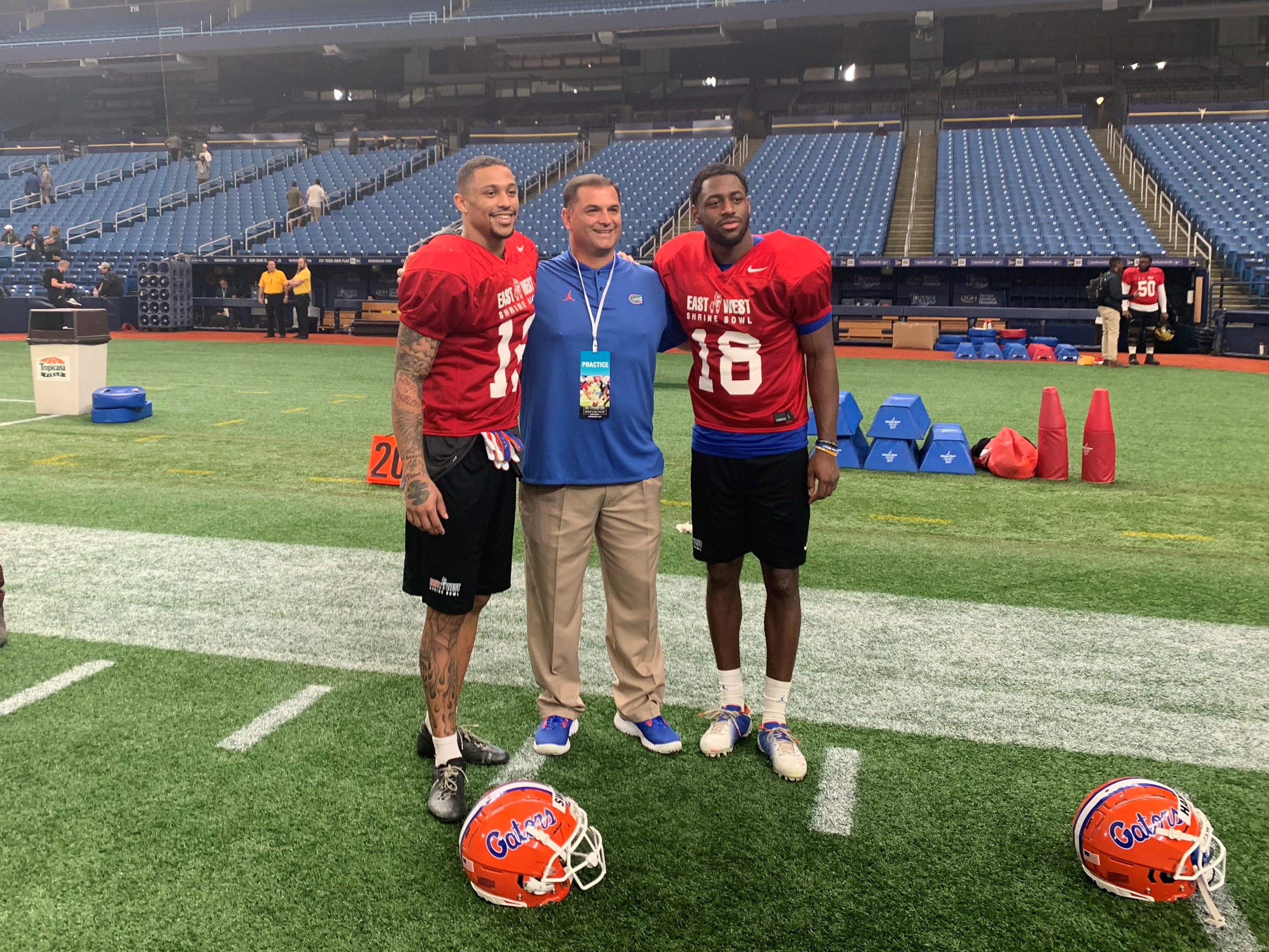 Gators Notes and Quotes from East-West Shrine Bowl Practice