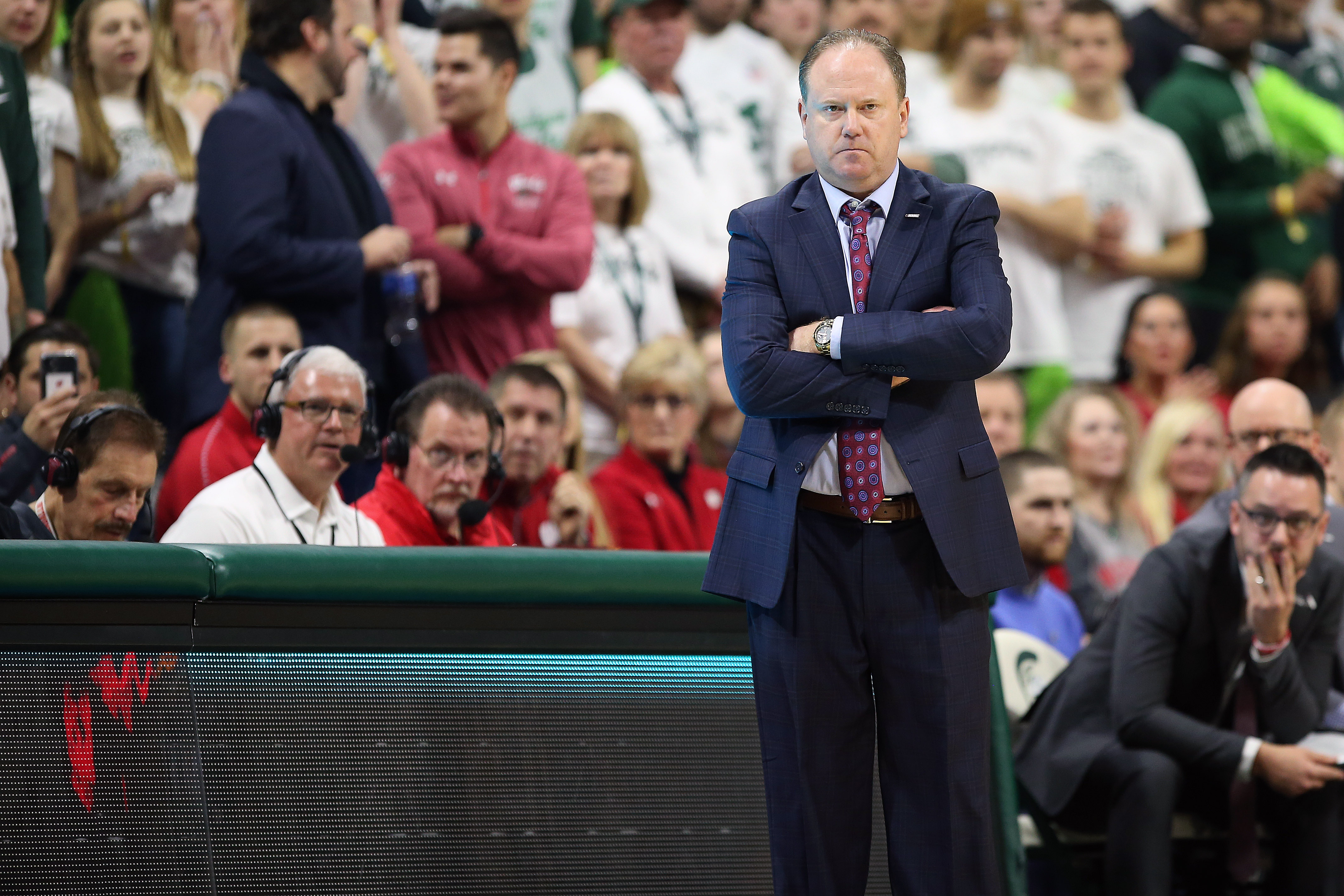 Three Observations from Wisconsin's Loss at No. 15 Michigan State
