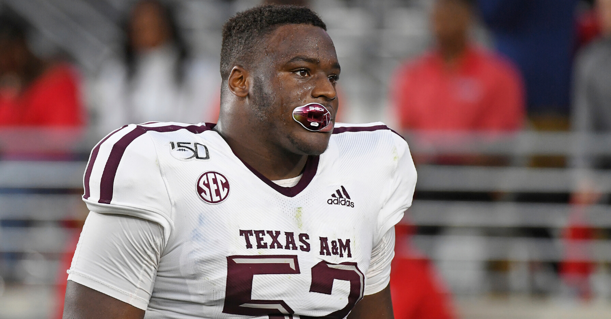 Cowboys NFL Mock Draft Round 2: Brugler Pegs Texas A&M Defensive Tackle Madubuike to Dallas