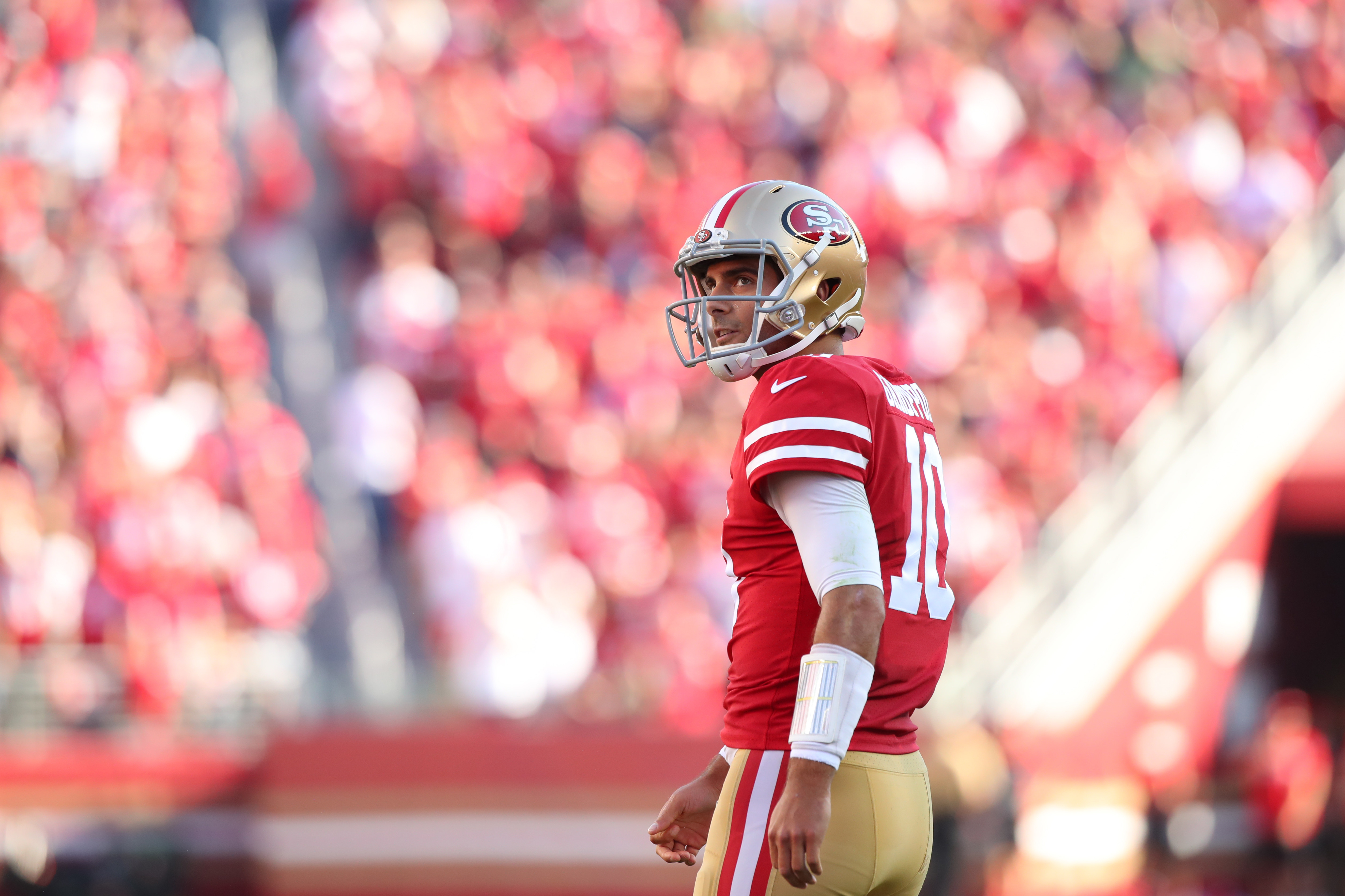 What Jimmy Garoppolo Learned From Tom Brady's Playoff Experience