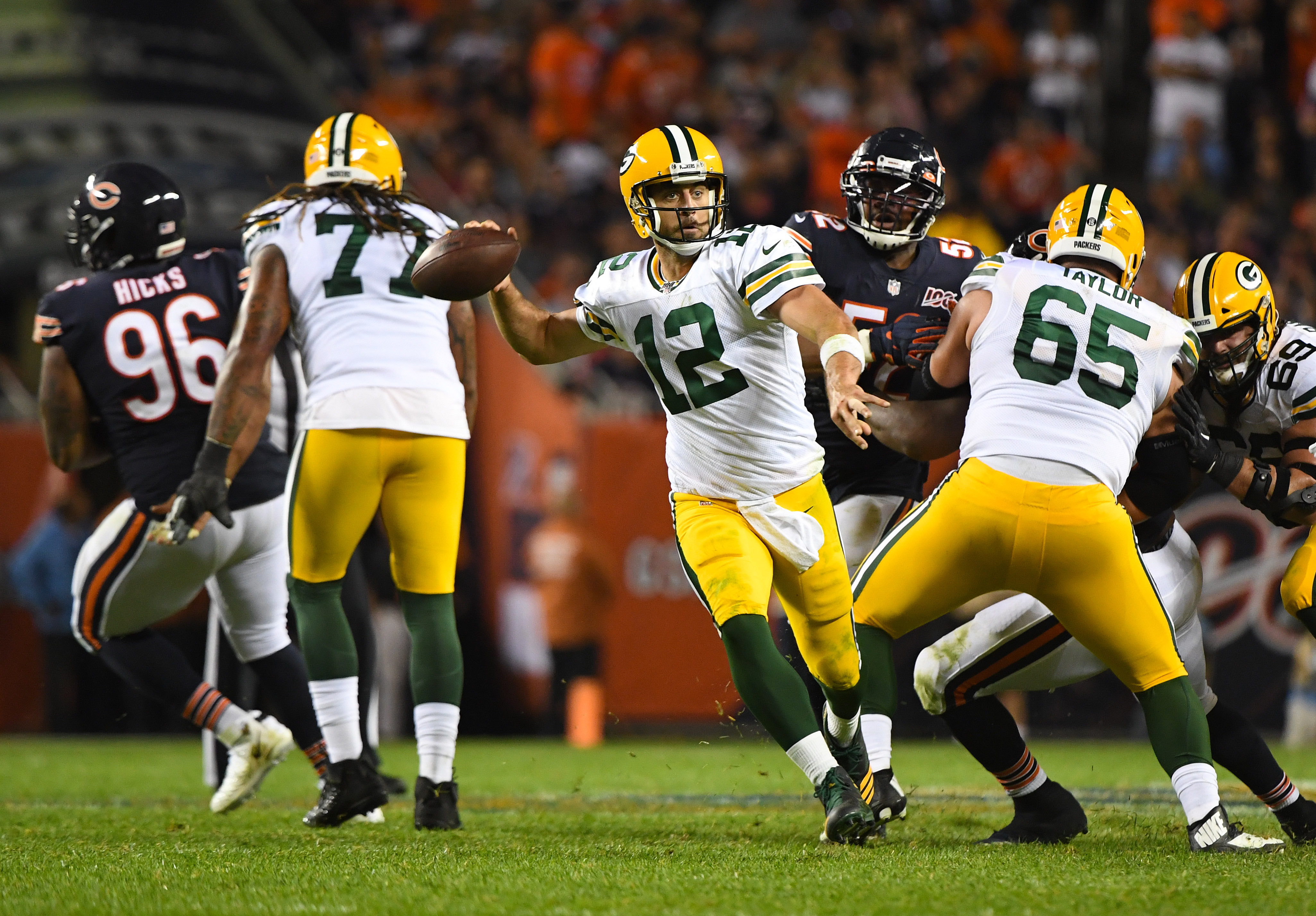 How Bears Stack Up Against NFC North Champ Packers