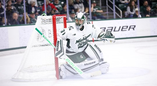 #20 Michigan State Opened Weekend Shutting Out The Badgers