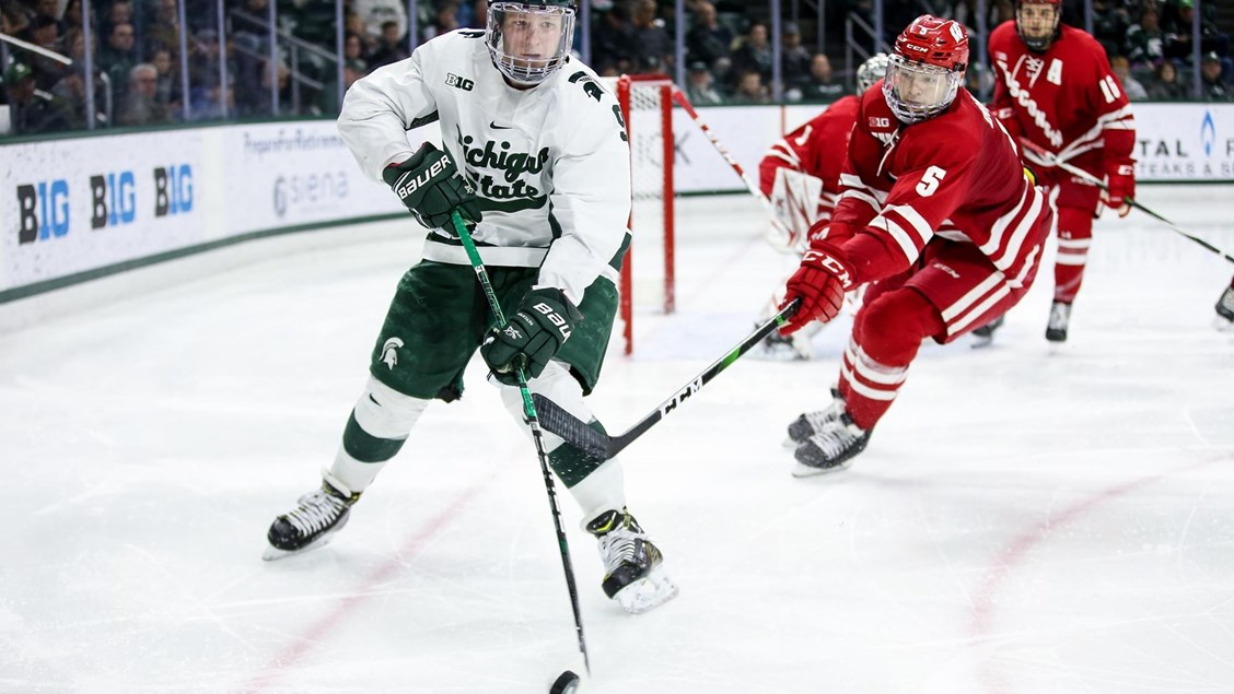 #20 Spartans Exit Weekend In 2nd Place in The Big Ten