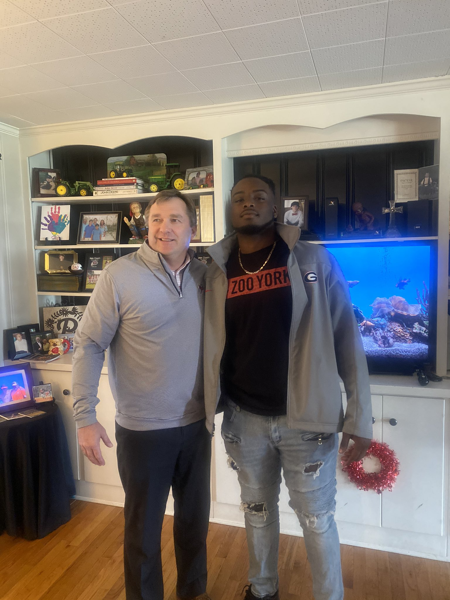 DJ Lundy Discusses His Recruitment and His Relationship with Georgia