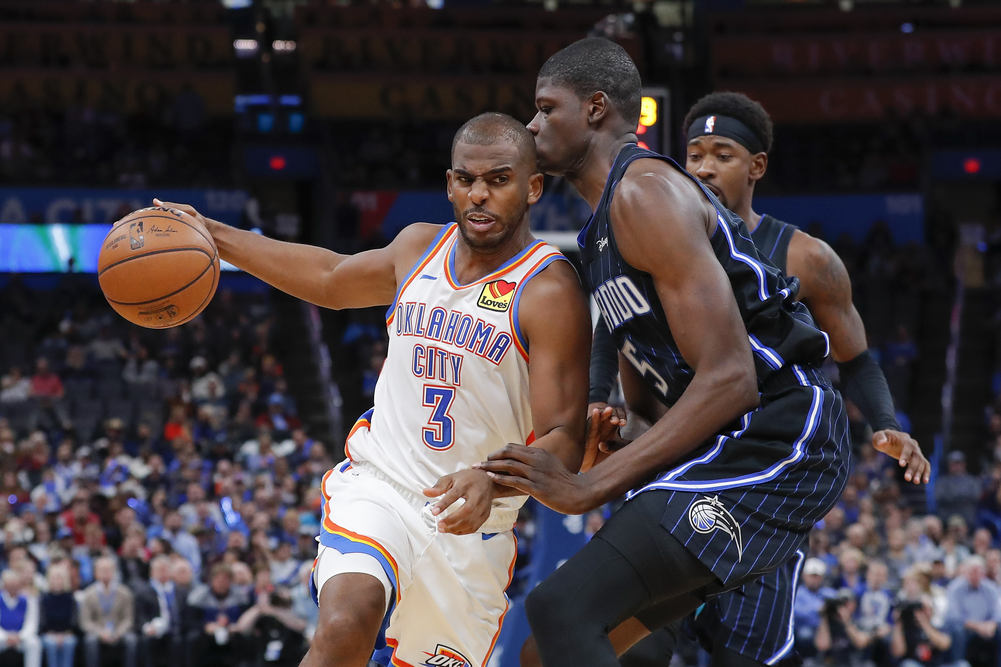 Thunder Injury Update and Chris Paul Says he Won't Waive his Player Option