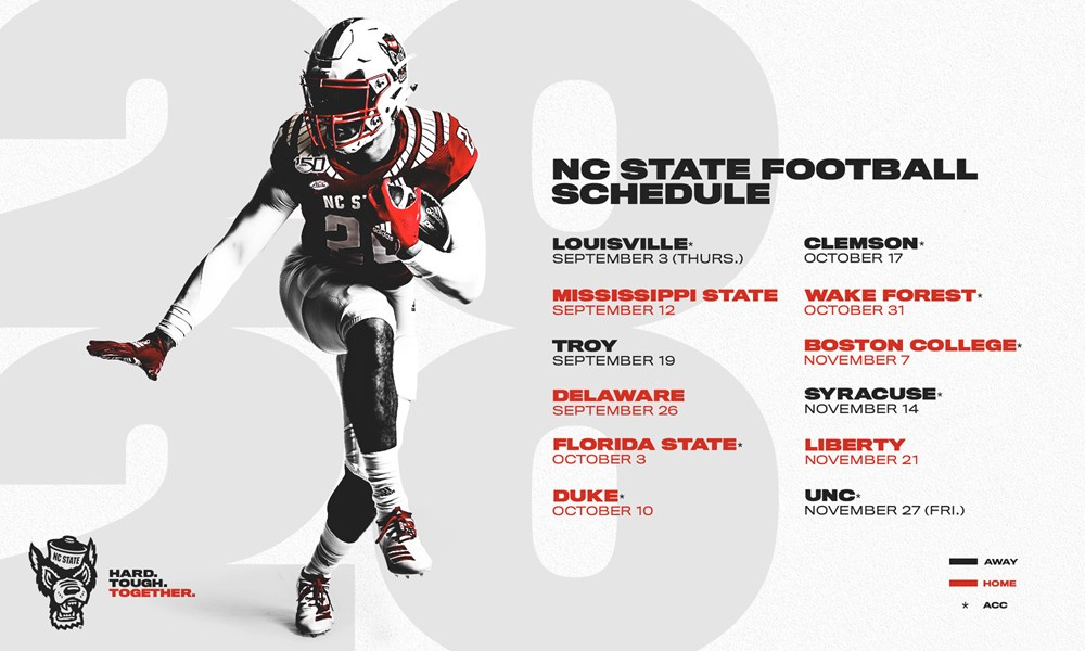 Wolfpack To Open 2020 Schedule Against Louisville