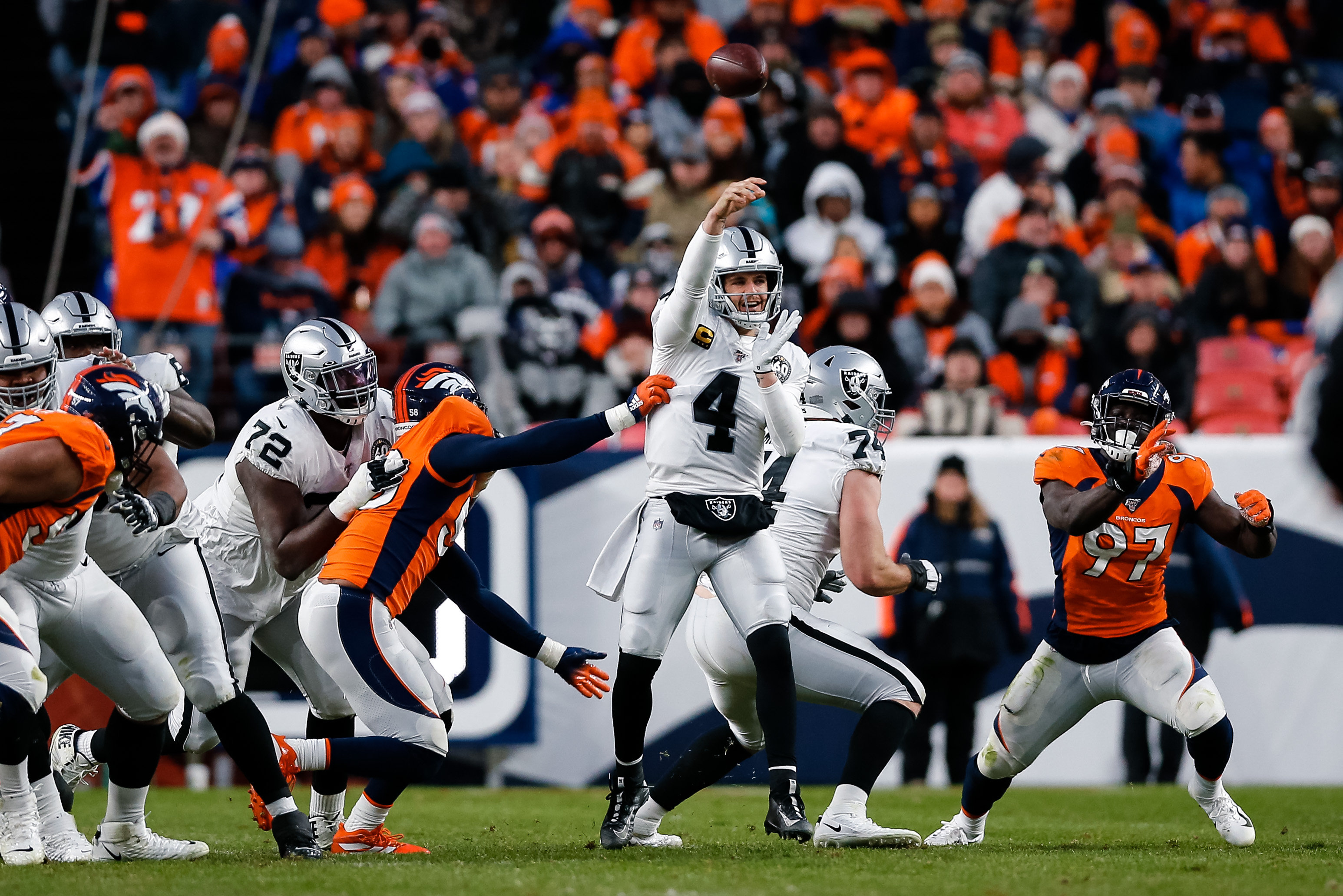 Could Carr Drive the Redskins?