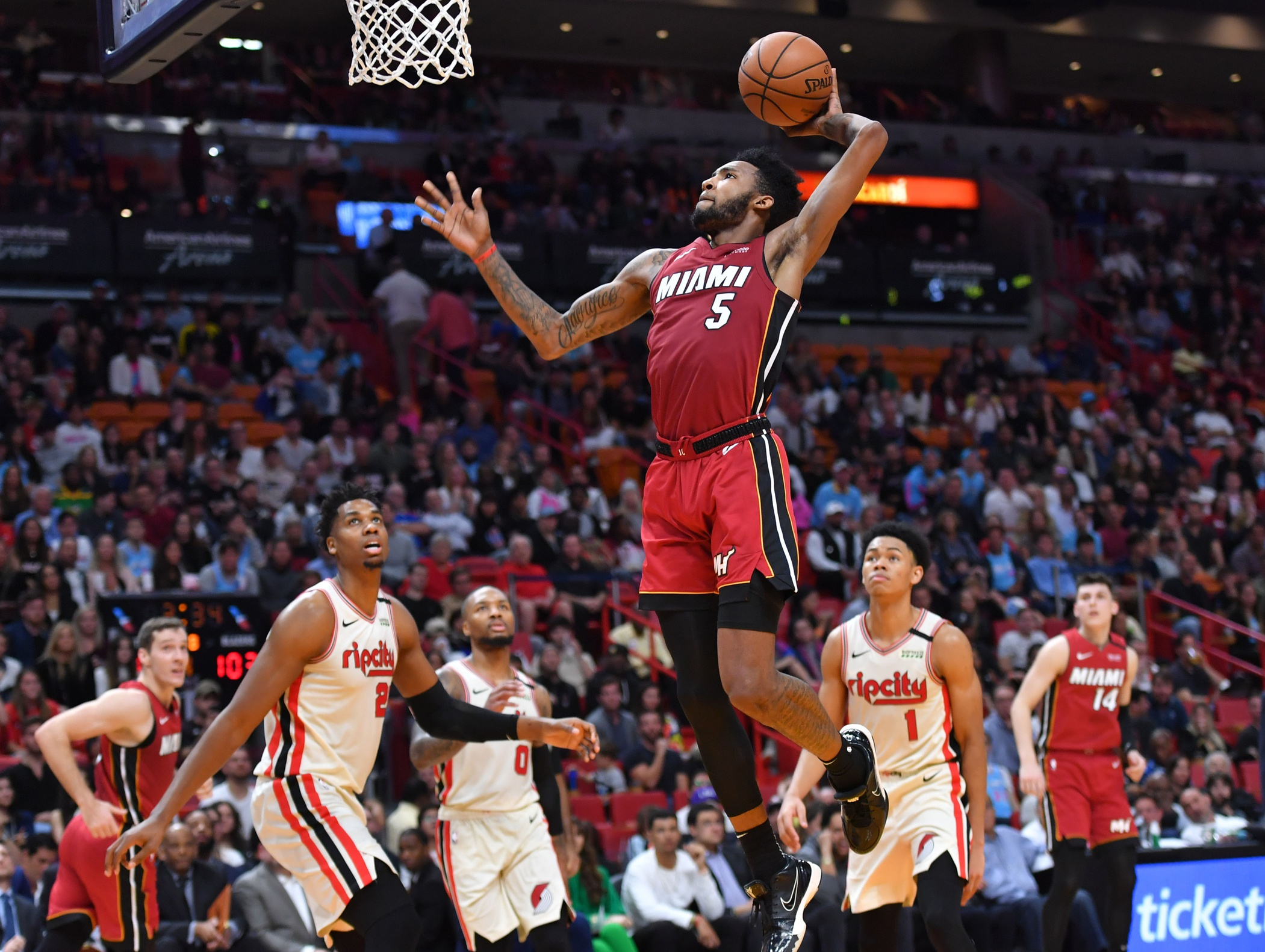 Heat forward Derrick Jones Jr. to participate in dunk contest at All-Star Weekend