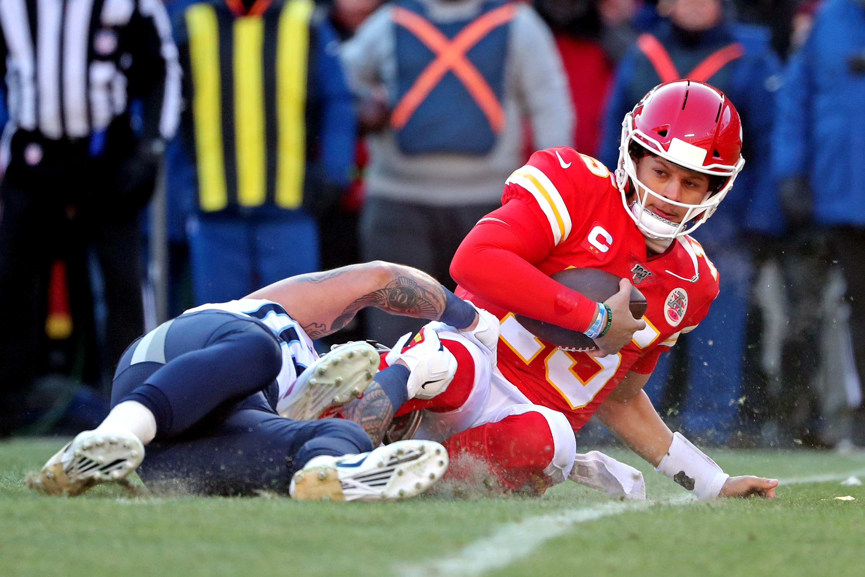 """Mike Florio Encourages 49ers to """"Send a Message"""" when Patrick Mahomes Scrambles"""