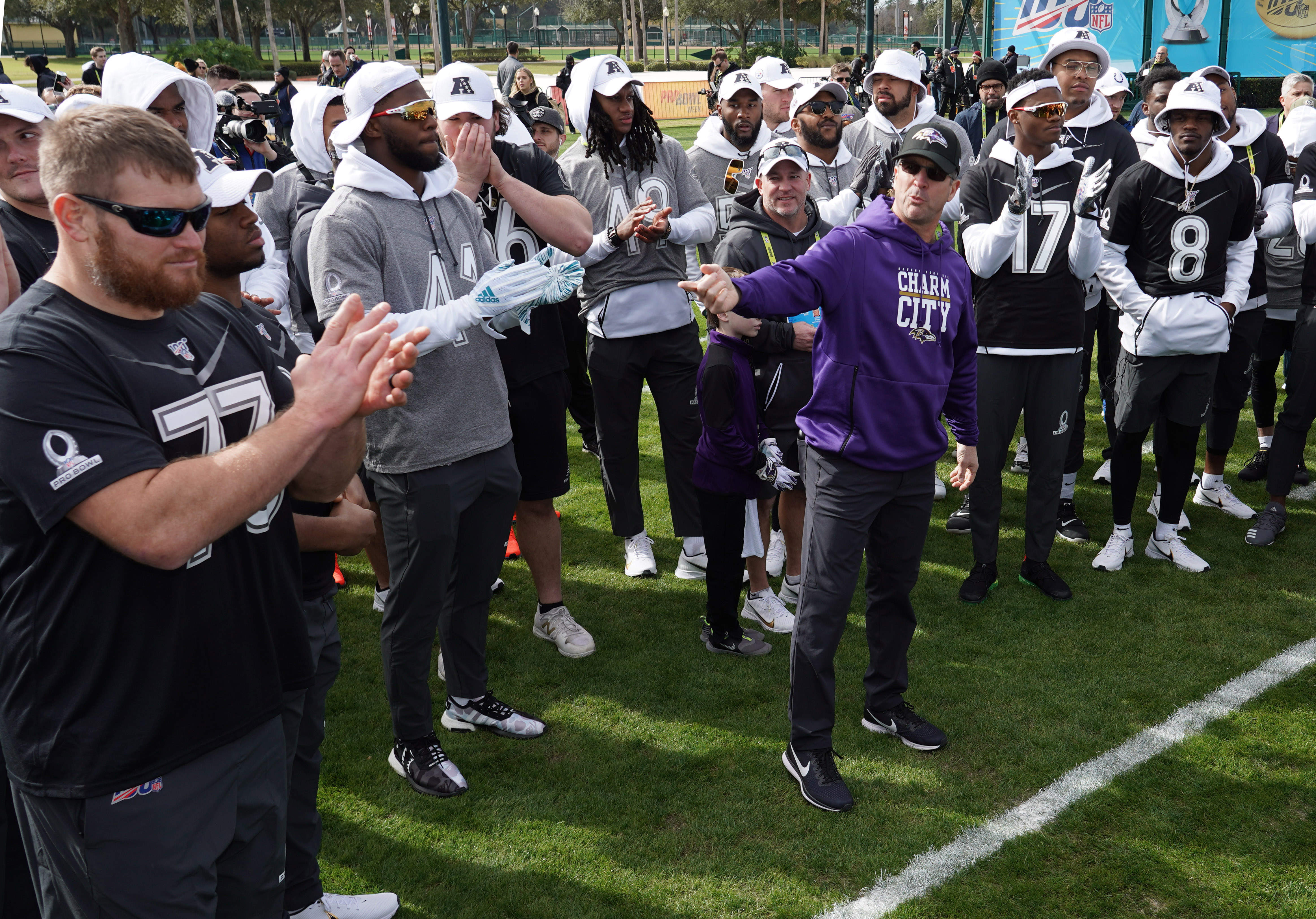 Ravens Hope Pro Bowl Experience Will Ease Some Pain