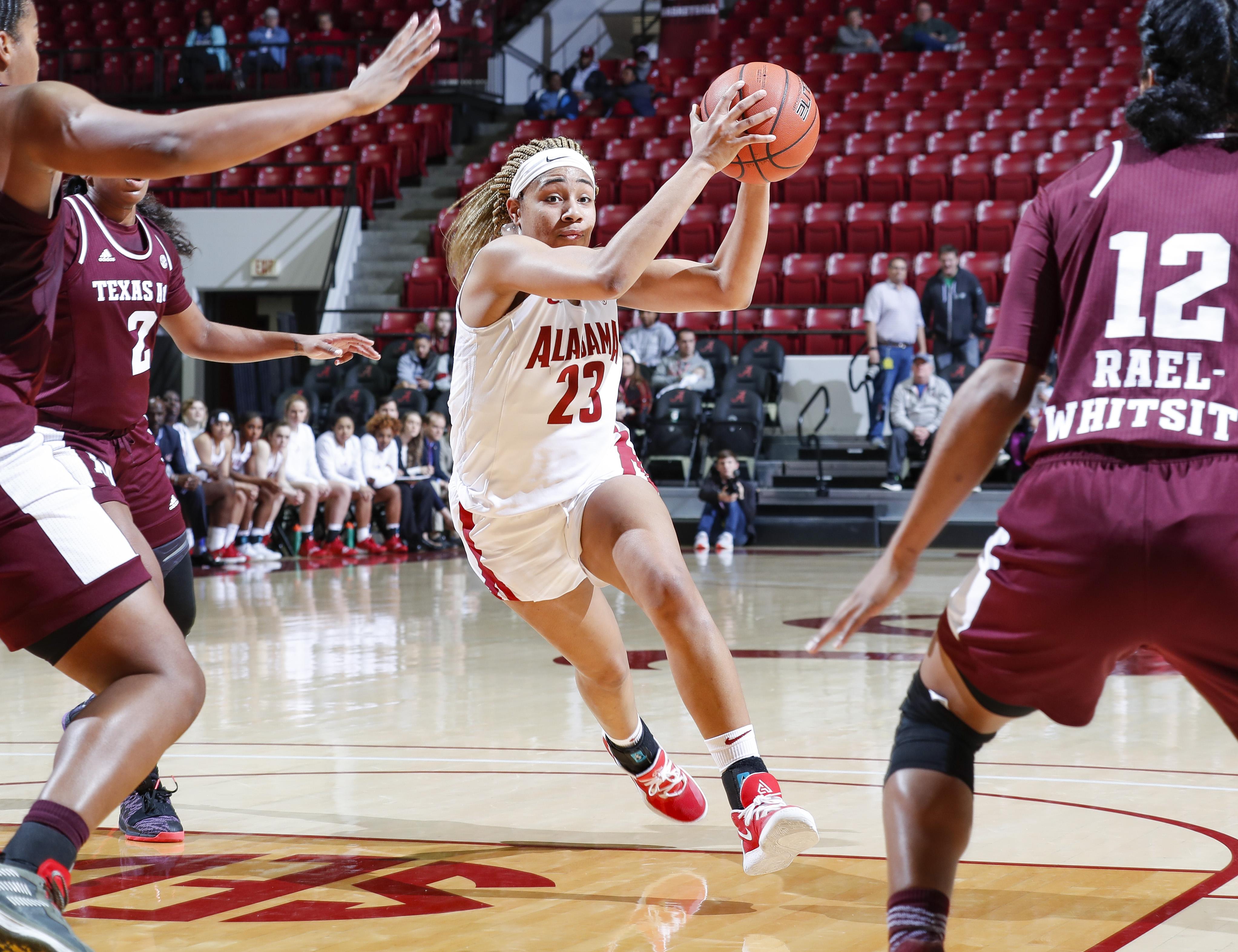 Alabama Women's Basketball Knocks Down No. 12 Texas A&M
