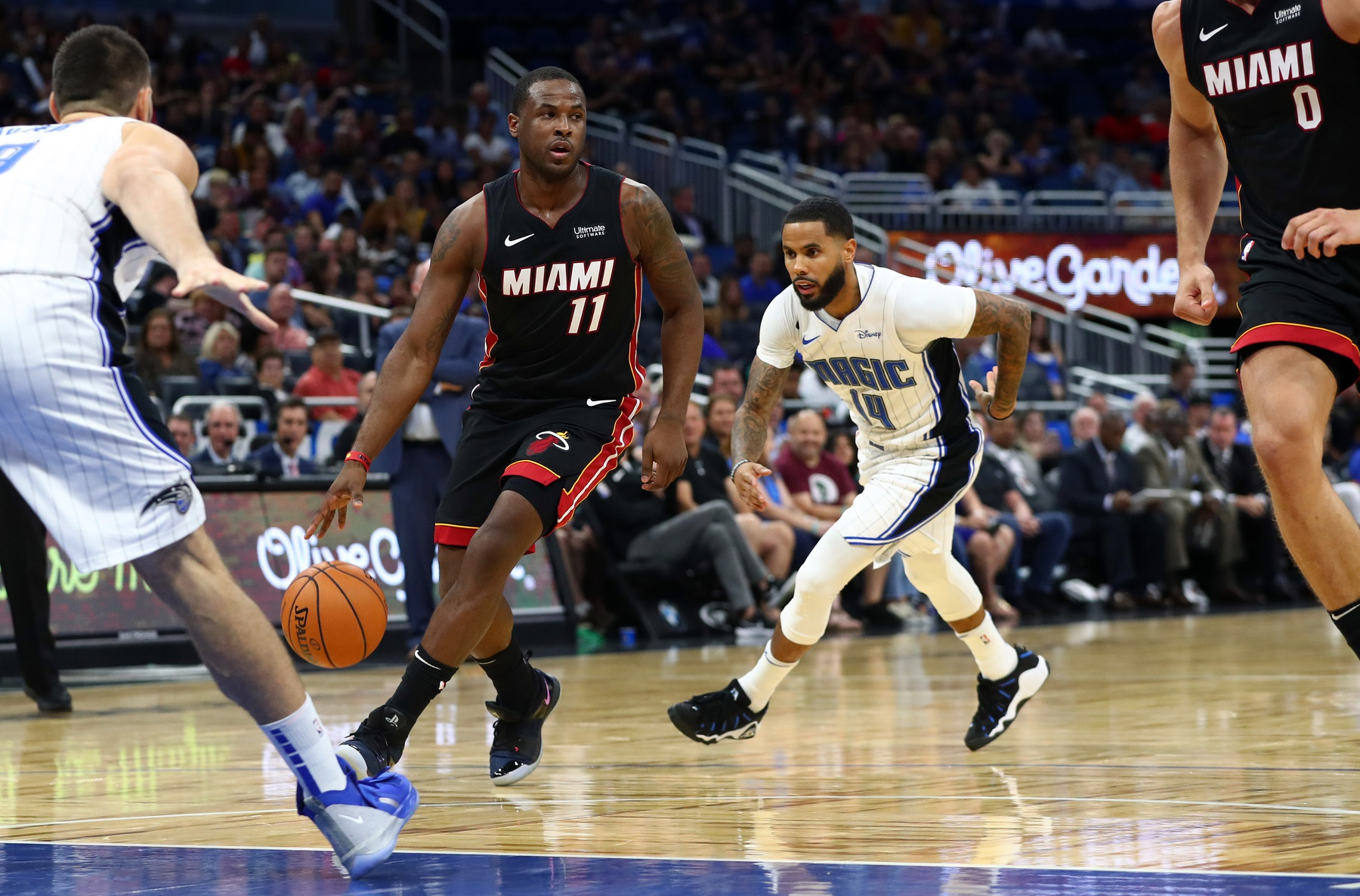 Dion Waiters makes first appearance for Miami Heat this season