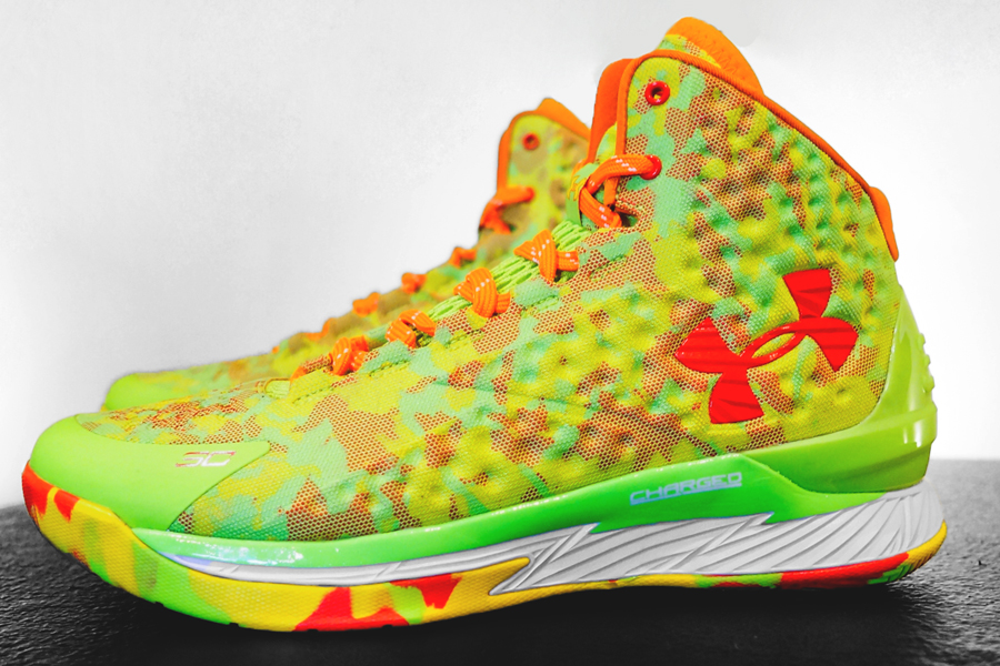 Wear Under Armour Curry 1 \