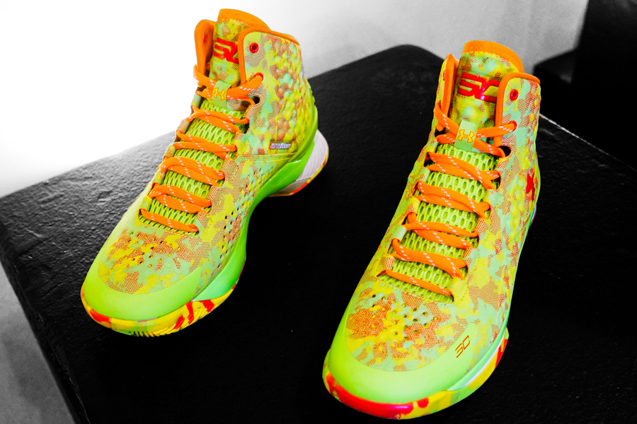 hot sales 7c16f 91acd Stephen Curry To Wear Under Armour Curry 1