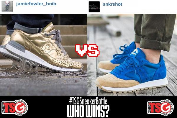 Sneaker Battle: Saucony Playcloths Shadow 5000 vs Anteater Jazz O