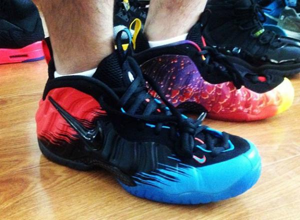 Nike Air Foamposite Pro Blue/Black-Red