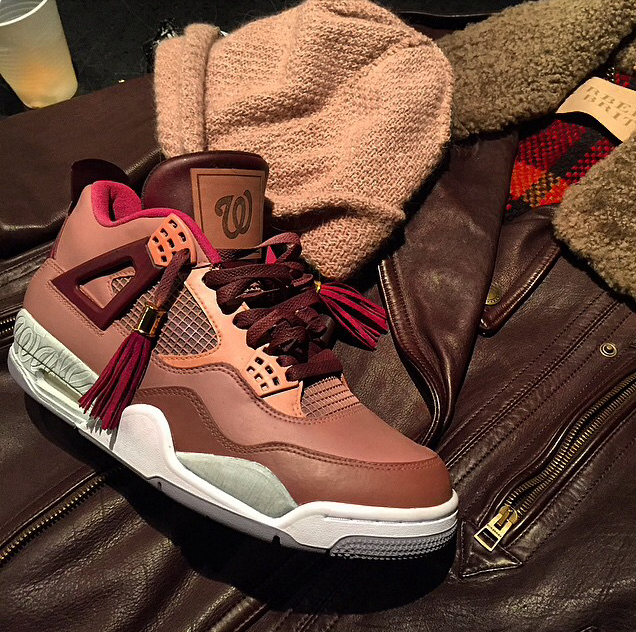 best loved 1ac4c c4a0b Wale Drops New Music & Breaks Out An Air Jordan 4 Inspired ...
