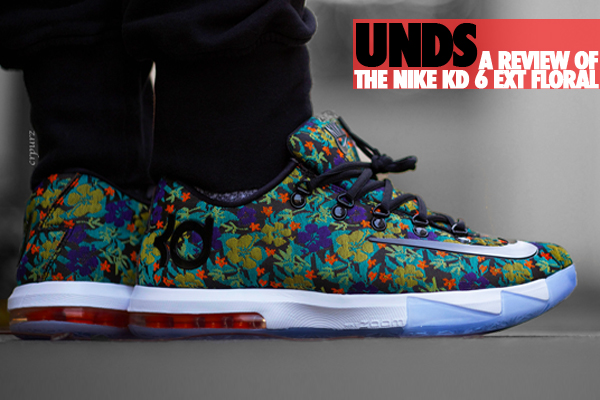 Nike KD 6 EXT 'Floral