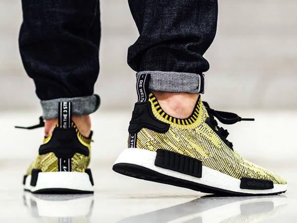 On Foot with the adidas NMD Yellow Digi Camo Releasing Soon