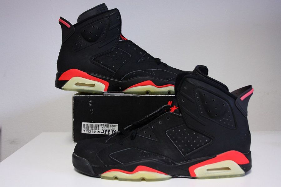 new arrival 0aad8 12d96 Before You Say 2014 Black Infrared 6's Are Too Pink, Check ...