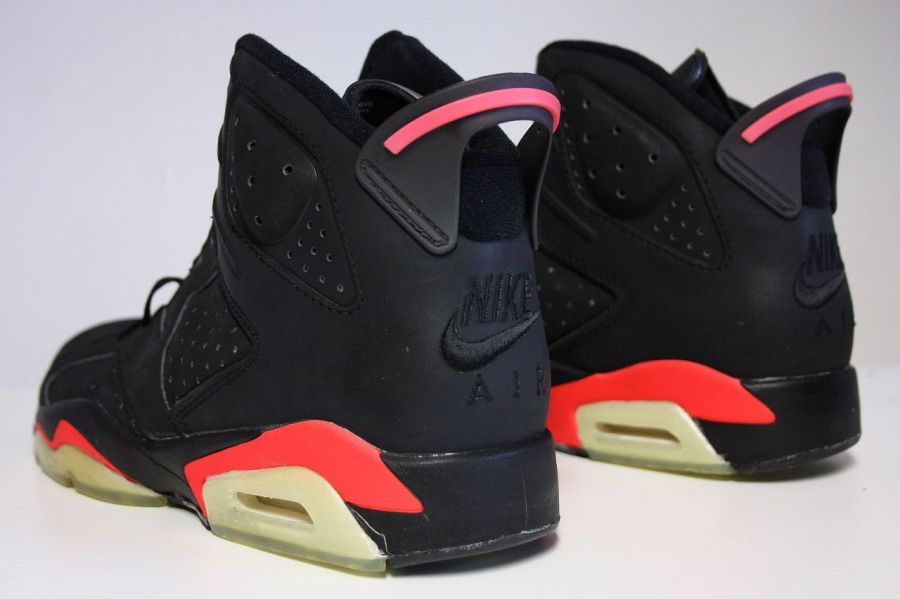 Black Infrared 6's Are Too Pink