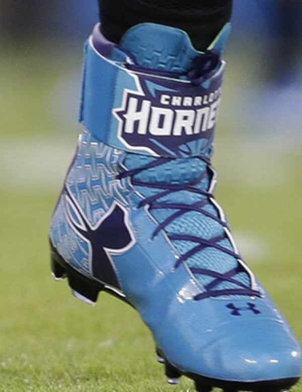 watch 40980 95211 Cam Newton & Under Armour Celebrate The Hornets Return With ...