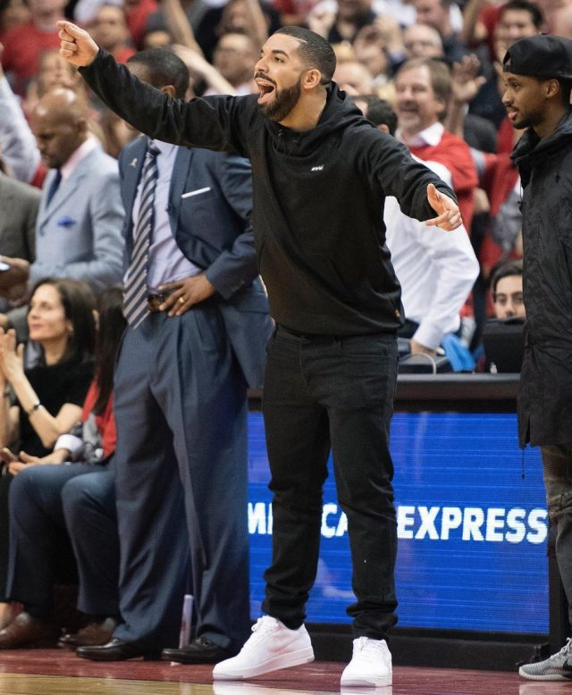 Drake Gives His OVO Sneakers a Break to
