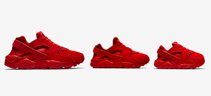 Nike Just Released Red Huaraches for