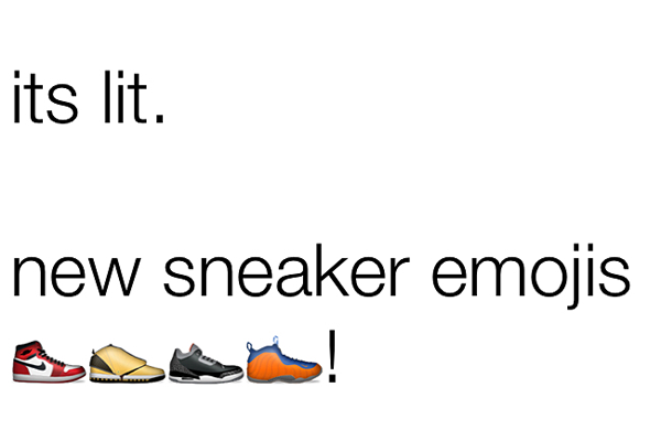 Mensajero Correctamente Entretener  How To Get Sneaker Emojis For Your iPhone or Android Right Now