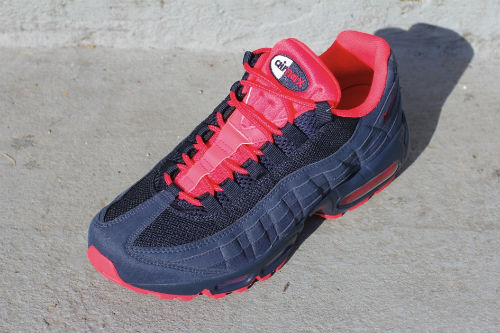 Nike Air Max 95 Navy Blue/Red - New Images
