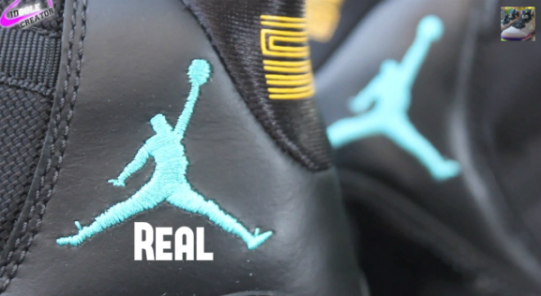 new style 5af87 4f71e Legit Check  How To Tell If Your Gamma Blue Air Jordan 11 is Fake -  TheShoeGame.com