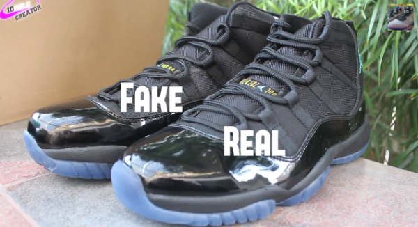 43a1fe1d188 Legit Check: How To Tell If Your Gamma Blue Air Jordan 11 is Fake ...