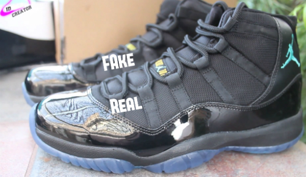 new style 57376 5719d Legit Check  How To Tell If Your Gamma Blue Air Jordan 11 is Fake -  TheShoeGame.com
