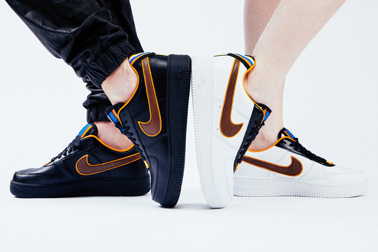 site réputé 22b12 0beb5 Riccardo Tisci x Nike Air Force 1 Black Collection In Detail ...