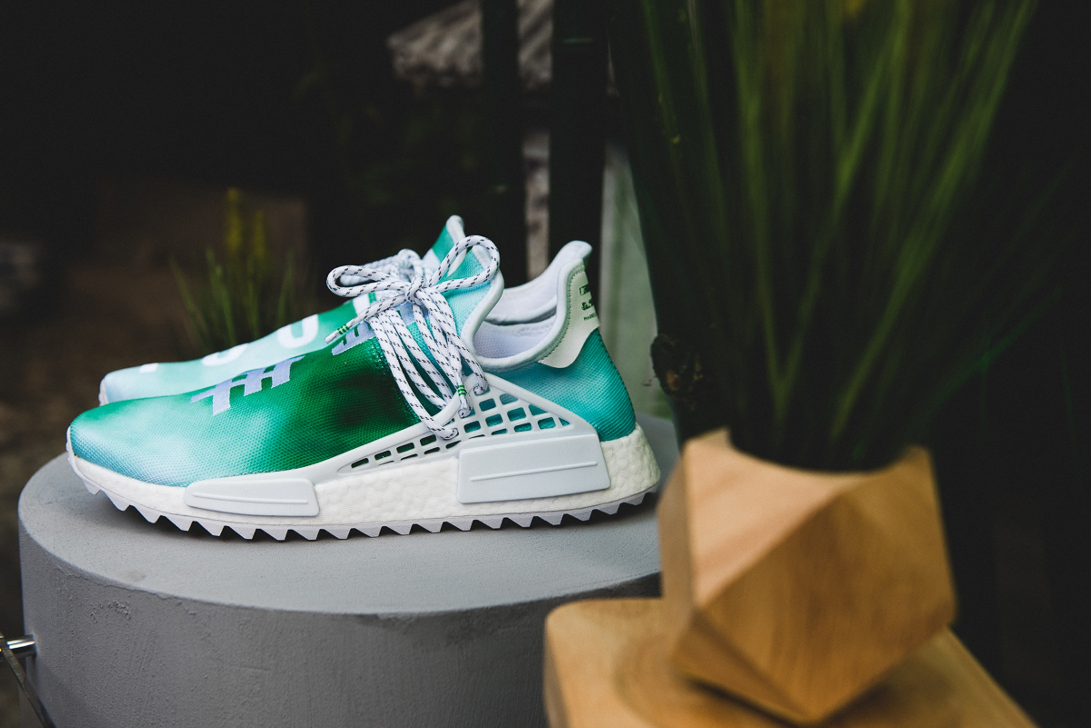 detailed look cf552 2253a Pharrell adidas NMD Hu China Exclusive Pack - TheShoeGame.com