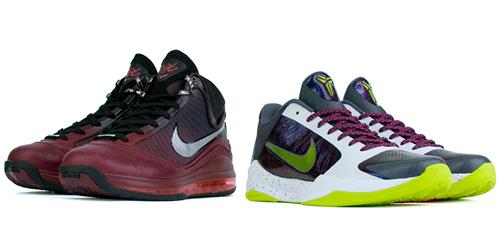 Christmas Kicks - LeBron Vs. Kobe