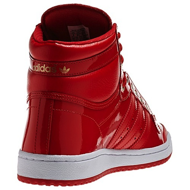 Adidas Top Ten Hi 'Red Patent Leather