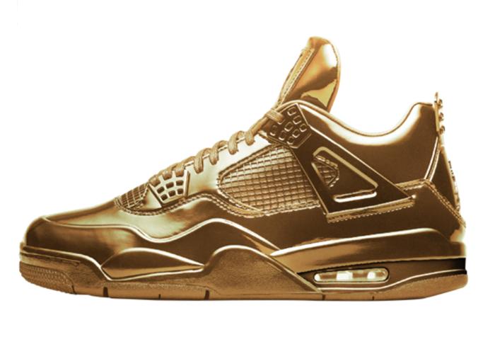 Air Jordan 4 Solid Gold