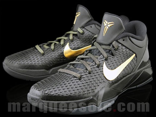 Nike Zoom Kobe 7 Elite - Black/Metallic