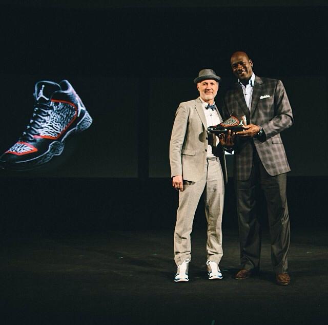 Michael Jordan Pose With The Air Jordan XX9