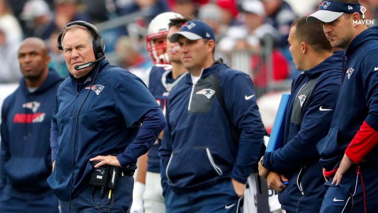 Risultati immagini per patriots coaching staff