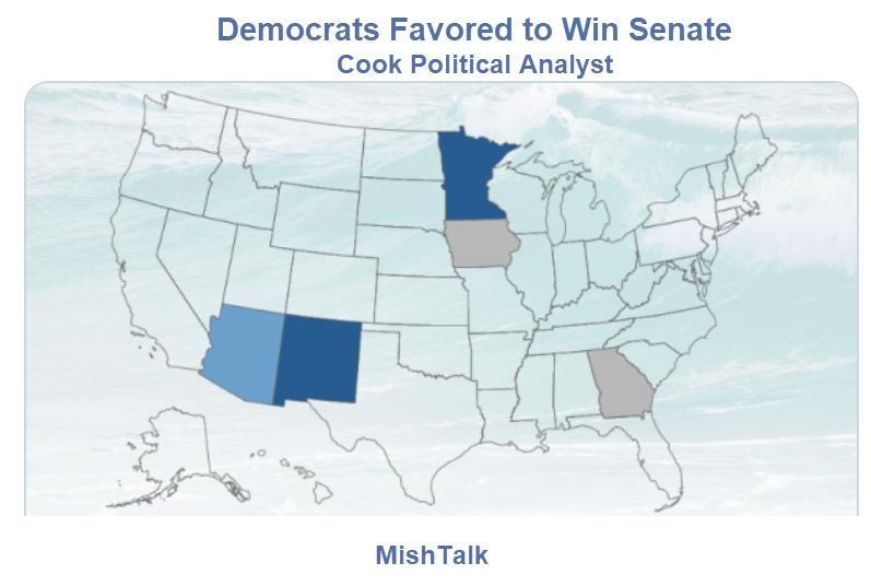 Democrats Favored to Win the Senate